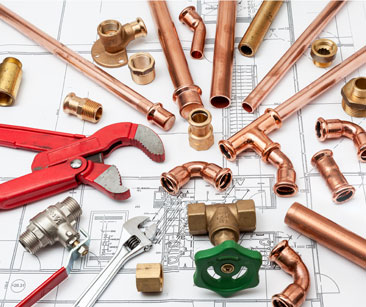 Plumbing Pipes and Tools